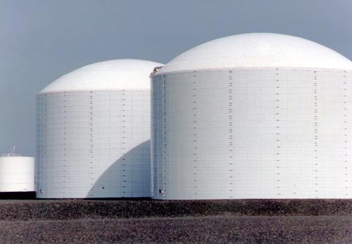 cold storage tanks