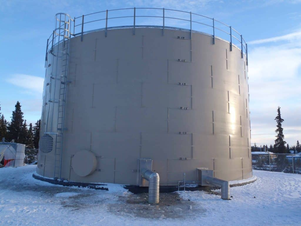 vertical tank insulation